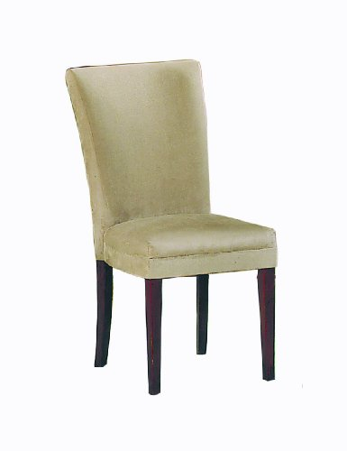 - Homelegance Microfiber Parson Chair, Peat, Set of 2
