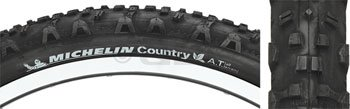 Michelin Country A/T 26 x 2.00, Black Tire