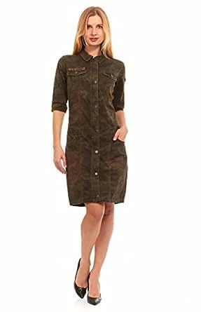 s army fatigue camo dress at