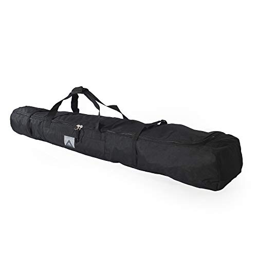 High Sierra Padded Ski Bag for Single Pair of Skis (Up to 185cm) - Black