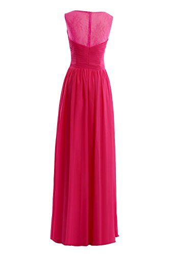 Long Evening Bridal Champagne Women's Chiffon Prom Gowns Bess Dress Formal Lace dtwTZqwIS