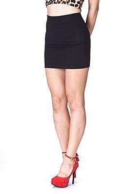 Dani's Choice Must-buy Basic Bodycon Pencil Short Mini Skirt