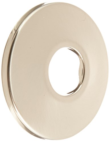 Jones Stephens E0205BN Escutcheon Low Pattern, Brushed Nickel - Nickel Decorative Escutcheon