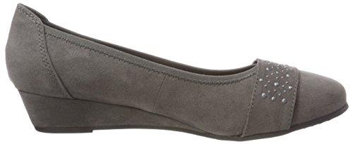 Softline Women's 22260-21 Closed-Toe Pumps Grey (Graphite 206) reA8g4lD