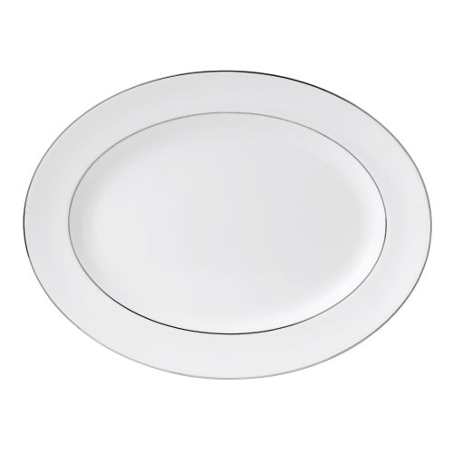 Wedgwood Oval Plates (Wedgwood Signet Platinum 15-1/4-Inch Oval Platter)