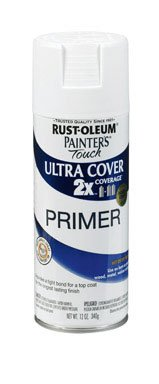 Rust-Oleum 249058 Painter's Touch Multi Purpose Spray Paint, 12-Ounce, White Primer - 6 Pack ()