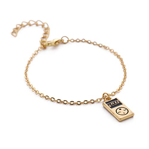 sic Player Charm Simple Thin Chain Bracelet ()