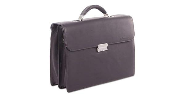 Holds Laptops 15.6 Brown Milestone Briefcase 5 x 5 x 12