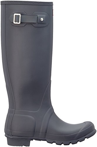 Grey Gomma Donna Stivali Dsl Wellington Hunter di Boots Grigio Owqpqxzv