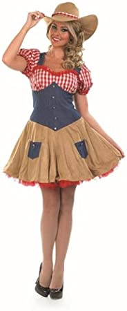Amazon.com: Dolly Parton Country Cowgirl Female Fancy Dress ...