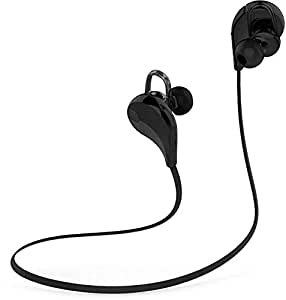 Jogger Wireless Bluetooth 4.1 Hands Free Stereo Sports Headset Headphone for Smartphone - BLACK