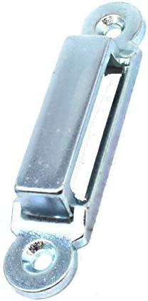 Keep Only Zinc Plated BZP Steel Ring Slotted Replacement Garden Gate Latch
