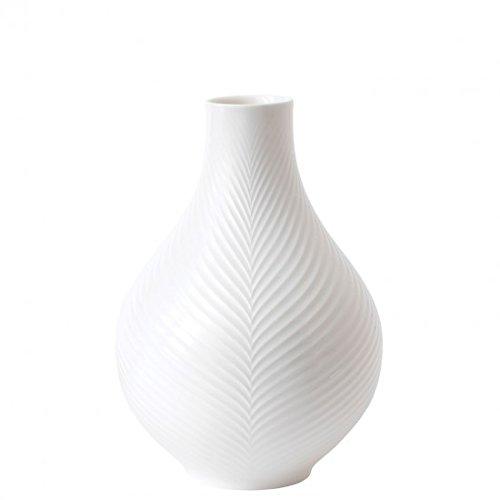 - Wedgwood White Folia Bulb Vase