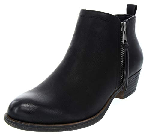 Sugar Women's Truffle Ankle Bootie Boot with Zipper Closure