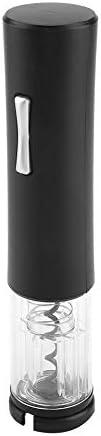 Duokon Mini ABS Acero Inoxidable Abrelatas de Vino Hogar Hogar Vino Tinto Abrebotellas Sacacorchos (batería no incluida)