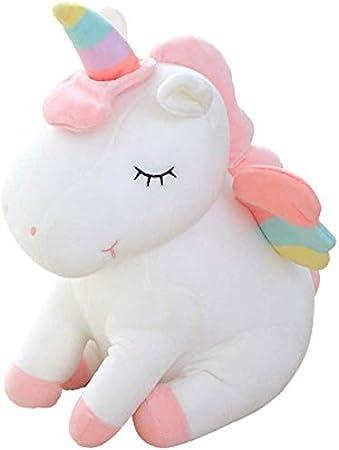 Unicorn Premium Animal Pillow Cushion Soft Toys for Baby Kids 30cm (Whit)