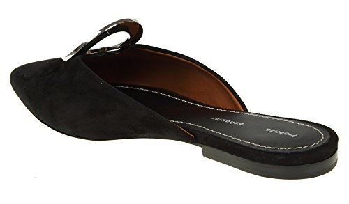 Schouler Proenza Black Women's Sandals PS3012507031999 Suede R00vx6