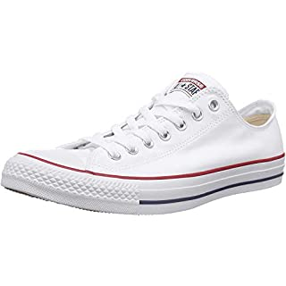 Converse Chuck Taylor All Star Core Ox, Optical White, Size 8