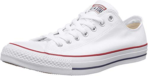 Converse Chuck Taylor All Star Core Ox, Optical White, Size 8.5