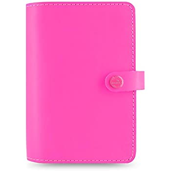 Amazon.com : Filofax The Original A5 Fluoro Organiser - Pink ...