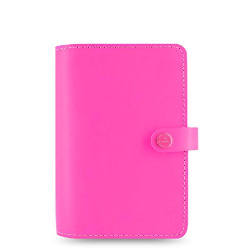 Filofax 2016 The Original Personal Leather Organizer Fluro Pink 022431