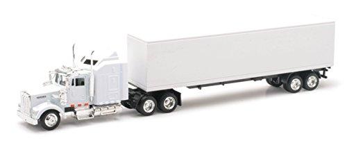 Kenworth W900 Toy Truck- All white