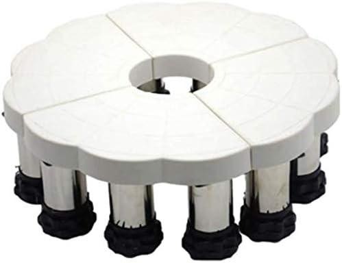 アプライアンストロリー、乾燥機、洗濯機、冷蔵庫用の強力な足で調整可能な多機能(サイズ:C)