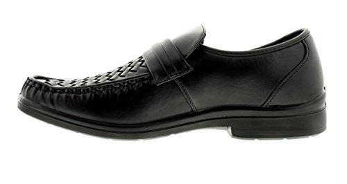 Shoes 6 New Black ONS Black 12 Slip UK Fashion Casual Class Sizes Business Gents Mens BRwBSqz