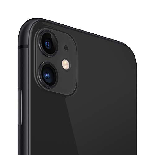 Apple iPhone 11 with Facetime - 128GB, 4G LTE, ( 2020 - Slim Packing ) Black - International Version