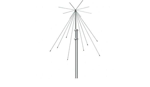 Icom AH-8000 - Antena discona Larga Banda 100 MHz: Amazon.es ...