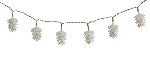 Pinecone Wide 3 Light (Cypress Home Pine Cone Indoor/Outdoor Safe String Lights)