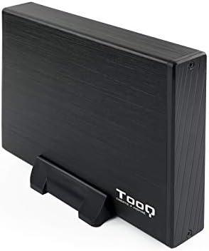 TooQ TQE-3527B - Carcasa para discos duros HDD de 3.5