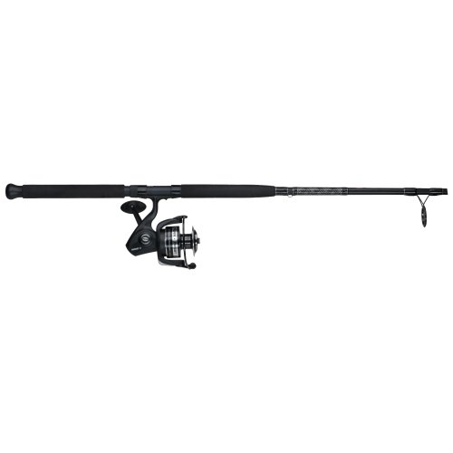 Penn Pursuit II 6000-1 Piece Spinning Combo, 7-Feet/Medium-Heavy (Rod Heavy Piece 2 Surf)