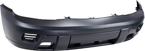 Front Bumper Cover Compatible with 2002-2009 Chevrolet Trailblazer Primed