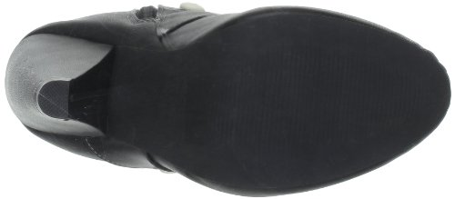 TUK Sweet Jane - Botas de material sintético Mujer negro - Noir (Black Cream Buttons)