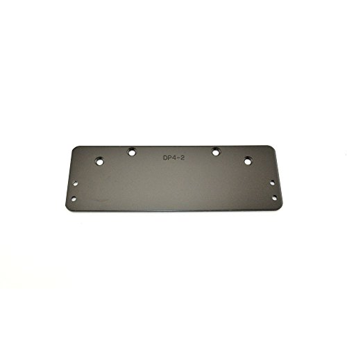 Stanley Commercial Hardware Large Drop Plate Kit for QDC300 Series Standard Duty Door Closers, Push Only, 3.27'' Width, 9.76'' Height, Painted D by Stanley Commercial Hardware