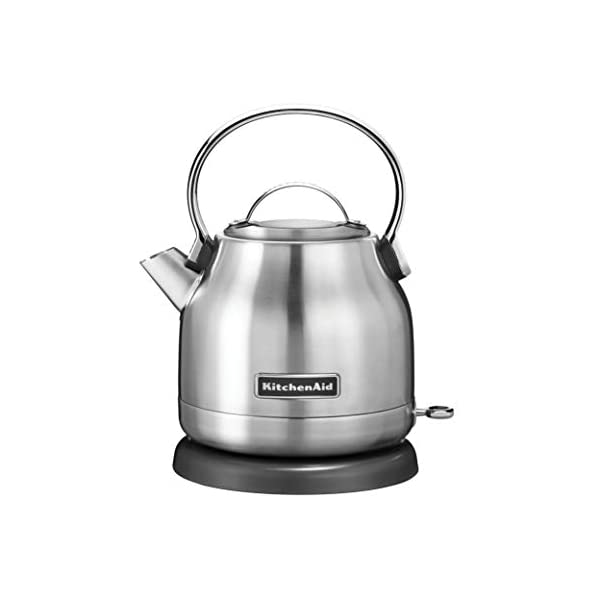 KitchenAid KEK1222SX 1.25-Liter Electric Kettle - Brushed Stainless Steel,Small 1