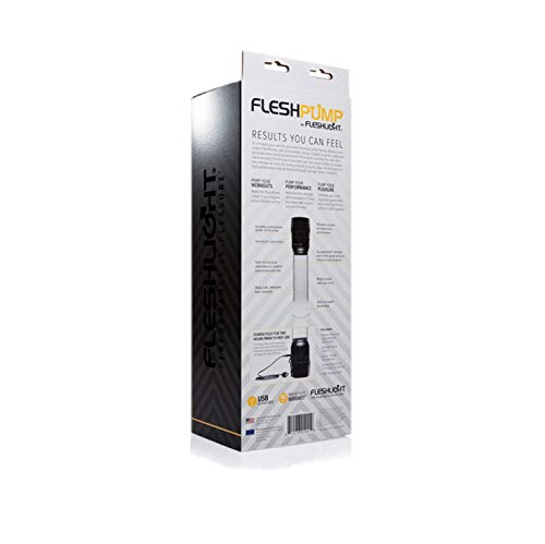 Fleshlight Fleshpump | Gentle Penis Pump for Men | Natural Alternative to Erectile Dysfunction Pills | Comfort Sleeve Attachment and USB Charger by Fleshlight (Image #8)