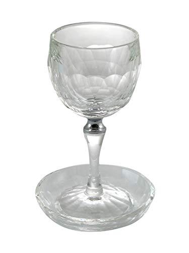 CRYSTAL KIDDUSH CUP SILVER RING