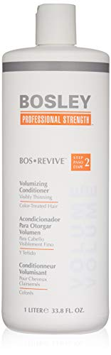 Bosley Bosley:bos-revive Volumizing Conditioner for Color-treated Hair 33.8oz, 33.8 Ounce