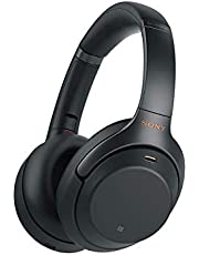 Sony WH-1000XM3 Bluetooth Noise Cancelling koptelefoon (30h batterij, Touch Sensor, Headphones Connect App, snellaadfunctie, Amazon Alexa) zwart