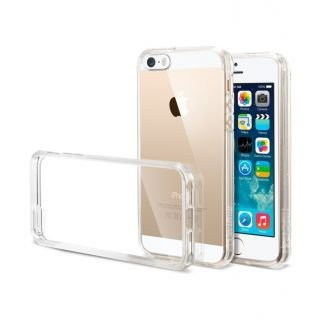 best cheap e61aa 816ce ascension Transparent Clear Silicone Jelly Gel Case Back Cover for Apple  iPhone 5 5S