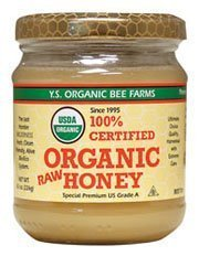 Price comparison product image 100% Certified Organic Raw Honey 8 oz Paste by Y.S. Eco Bee Farm [Foods]