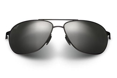 Maui Jim Castles Sunglasses Matte Black / Neutral Grey