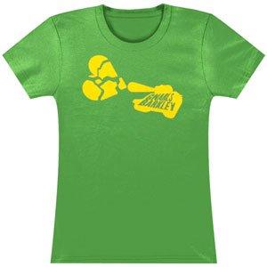 Gnarls Barkley Broken Heart Girls Jr Small Green