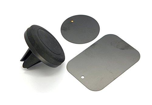 MFEEL Universal Mini Magnetic Air vent Car Mount Holder for All Mobile Phones - Black