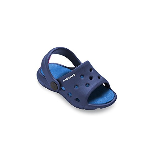Head Slipper Bubble, Chanclas Unisex Bebé Azul Marino (NV)