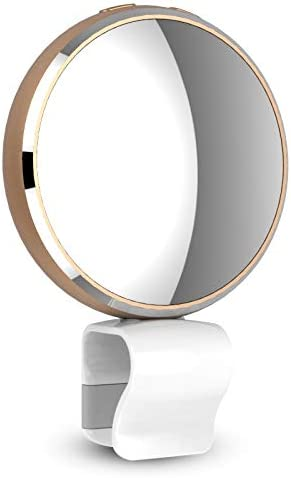 Gold Color : Gold CellphoneMall Selfie Ring Light BR34 Mirco USB Round Beauty Live LED Fill Light with Mirror
