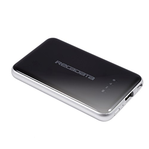 iRecadata Wireless External Solid State Drive 256GB Portable Hard Drive with Wifi Router by irecadata