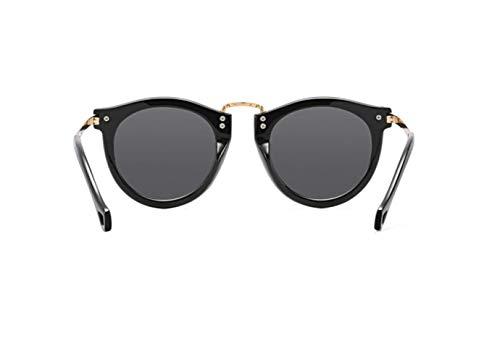 De Gafas Polarizador Gafas Retro Sol Negro De Sol Gafas Moda Brillante liwenjun TU5wdq1q